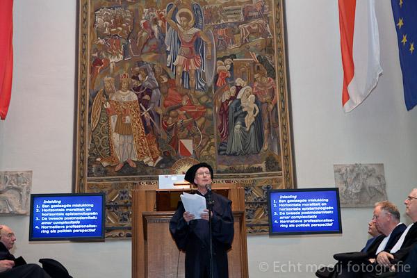 Inaugurale Rede in der Aula